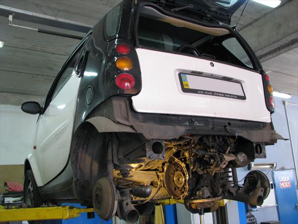 Smart схема двигателя